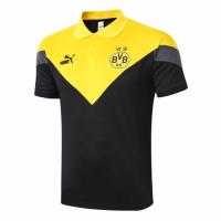 20/21 Borussia Dortmund Grand Slam Polo Shirt-Yellow&Black