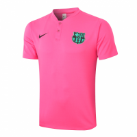 20/21 Barcelona Grand Slam Polo Shirt-Pink