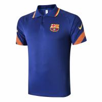 20/21 Barcelona Grand Slam Polo Shirt-Navy