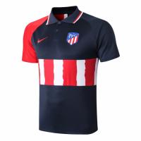 20/21 Atletico Madrid Grand Slam Polo Shirt-Navy&Red&White