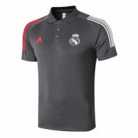 20/21 Real Madrid Core Polo Shirt-Dark Gray