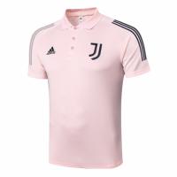 20/21 Juventus Core Polo Shirt-Pink