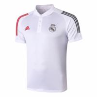 20/21 Real Madrid Core Polo Shirt-White
