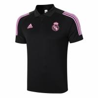 20/21 Real Madrid Core Polo Shirt-Black
