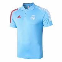 20/21 Real Madrid Core Polo Shirt-Blue
