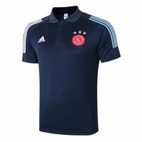 20/21 Ajax Core Polo Shirt-Navy