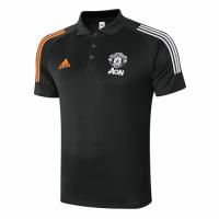 20/21 Manchester United Core Polo Shirt-Dark Green