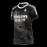 Real Madrid Human Race Black Soccer Jerseys Shirt