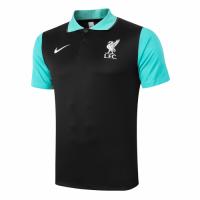 20/21 Liverpool Core Polo Shirt-Black&Green