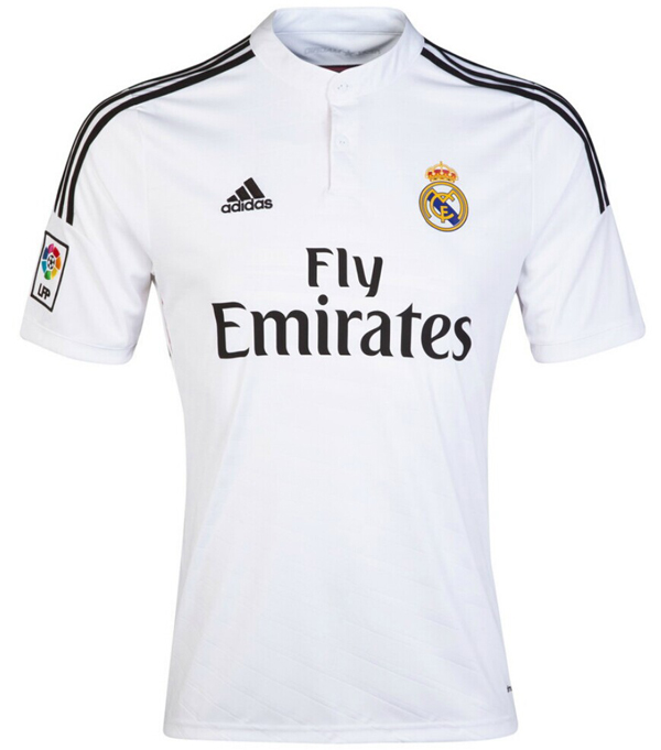 the latest 818fb 656bf 14-15 Real Madrid James #10 Home Jersey Shirt