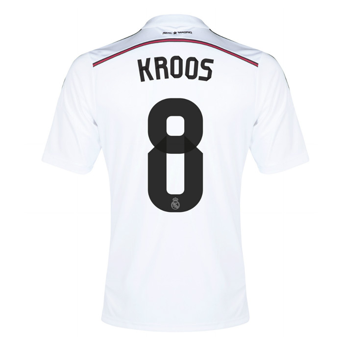 Home > Real Madrid > 14-15 Real Madrid Kroos #8 Hom.