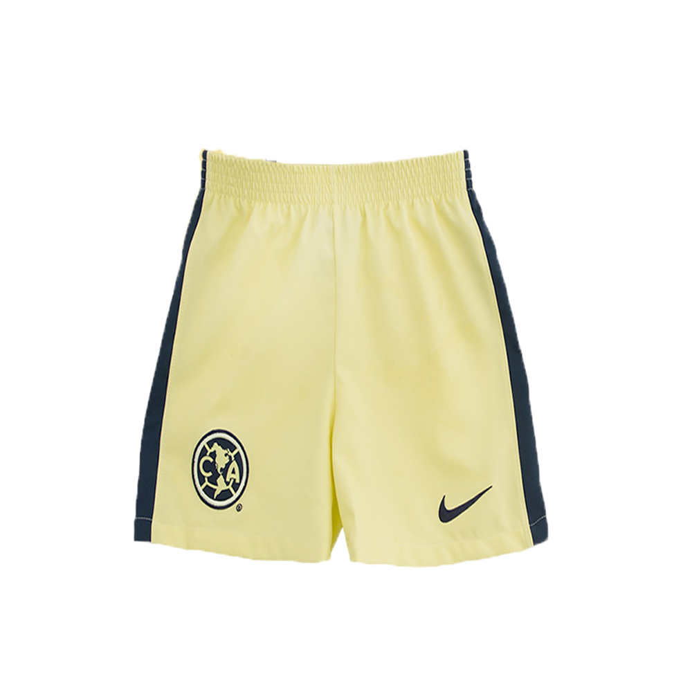 cheap for discount 0ef58 441fe 15-16 Club America Home Yellow Soccer Jersey Kit(Shirt+Short)