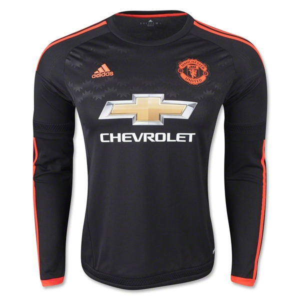 new style e947b 34285 manchester united jersey 2016 black