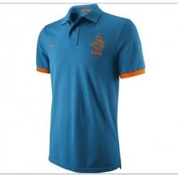 2013 Netherlands Blue Polo T-Shirt