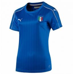 2016 Italy Home Blue Women's Jersey Shirt