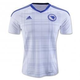 2016 Bosnia and Herzegovina Away White Jersey Shirt