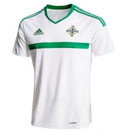 2016 Northern Ireland Away White Jersey Shirt