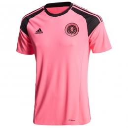 2016 Scotland Away Pink Soccer Jersey Shirt