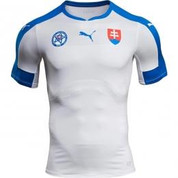 2016 Slovakia Home White Jersey Shirt