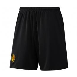 2016 Belgium Away All Black Jersey Short