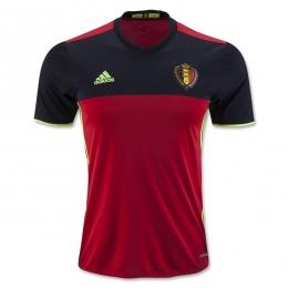 2016 Belgium Home Soccer Jersey Shirt