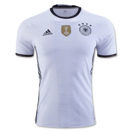 2016 Germany Home White Jersey Shirt