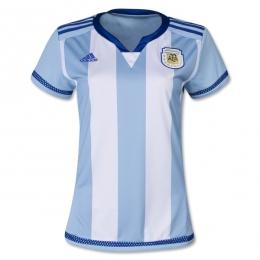 2016 Argentina Home Women's Soccer Jersey Shirt