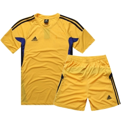 AD-501 Customize Team Yellow Soccer Jersey Kit(Shirt+Short)