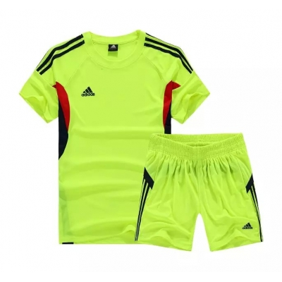 AD-501 Customize Team Green Soccer Jersey Kit(Shirt+Short)
