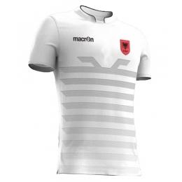 2016 Albania Away White Soccer Jersey Shirt