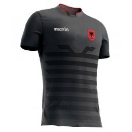 2016 Albania Away Gray Soccer Jersey Shirt
