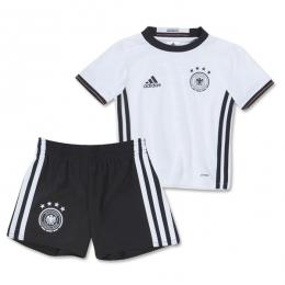 2016 Germany Home White Children's Jersey Kit(Shirt+Short)