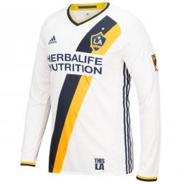 16-17 La Galaxy Home Long Sleeve Jersey Shirt