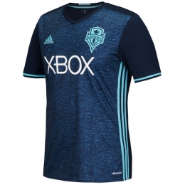 16-17 Seattle Sounders Away Navy Soccer Jersey Shirt
