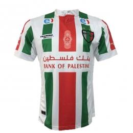 16-17 CD Palestino Home White Soccer Jersey Shirt