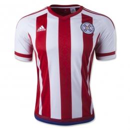 2016 Paraguay Home Soccer Jersey Shirt