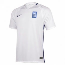 2016 Greece Home White Jersey Shirt