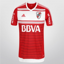 16-17 River Plate Away Red Jersey Shirt