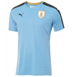 2016 Uruguay Home Soccer Jersey Shirt