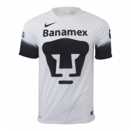 16-17 UNAM Pumas Away White Jersey Shirt