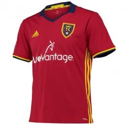 16-17 Real Salt Lake Home Red Jersey Shirt