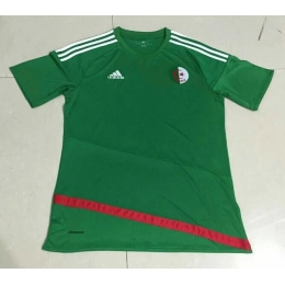 2016 Algeria Away Green Soccer Jersey Shirt