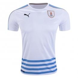2016 Uruguay Away Soccer Jersey Shirt