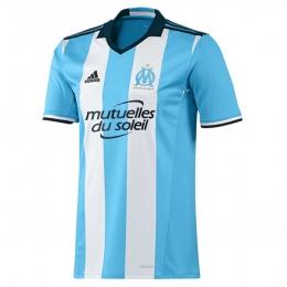 16-17 Marseille Away Blue Jersey Shirt