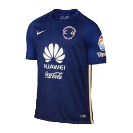 16-17 Club America Away Navy Soccer Jersey Shirt