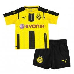 16-17 Borussia Dortmund Home Children's Jersey Kit(Shirt+Short)