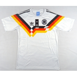 1990 West Germany Retro Home Soccer Jersey Shirt
