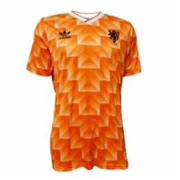 1988 Netherlands Retro Home Soccer Jersey Shirt