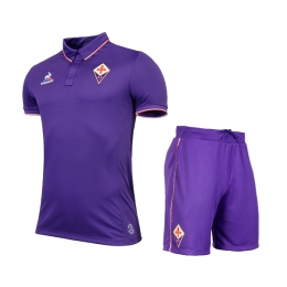 16-17 Fiorentina Home Soccer Jersey Kit(Shirt+Short)