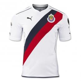 16-17 Deportivo Guadalajara Away White Jersey Shirt
